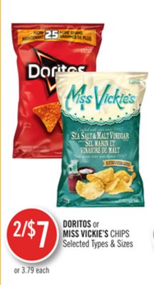 Doritos or Miss Vickie's Chips