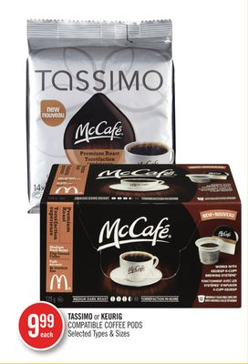 Tassimo or Keurig Compatible Coffee PODS