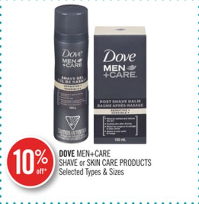 Dove Men+care Shave or Skin Care Products