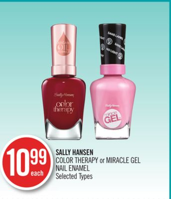 Sally Hansen Color Therapy or Miracle Gel Nail Enamel