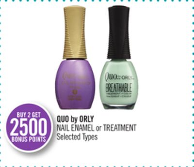 Quo By Orly Nail Enamel or Treatment
