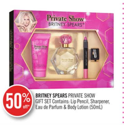 Britney Spears Private Show Gift