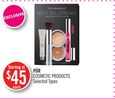 Pür Cosmetic Products
