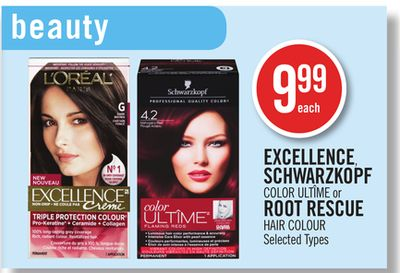 Excellence - Schwarzkopf Color Ultîme or Root Rescue Hair Colour