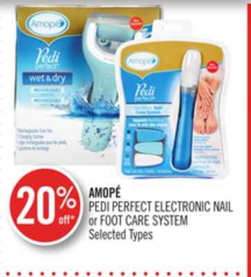 Amopé Pedi Perfect Electronic Nail or Foot Care System