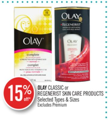 Olay Classic or Regenerist Skin Care Products