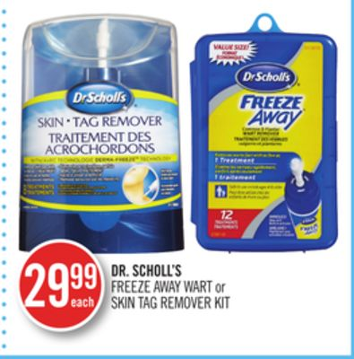 Dr. Scholl's Freeze Away Wart or Skin Tag Remover Kit
