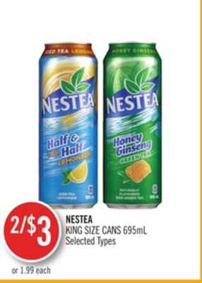 Nestea King Size Cans 695ml