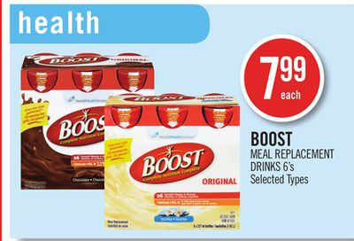 Boost Meal Replacement Drinks 6's