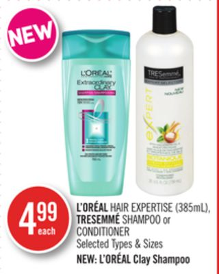 L'oréal Hair Expertise (385ml) - Tresemmé Shampoo or Conditioner