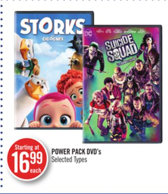 Power Pack Dvd's