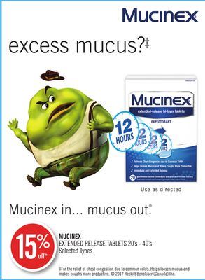 Mucinex Extended Release Tablets 20's - 40's