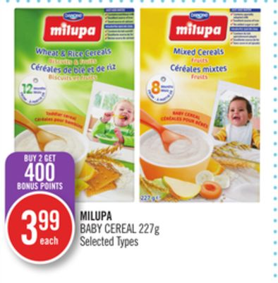 Milupa Baby Cereal