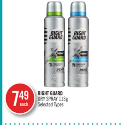 Right Guard Dry Spray 113g