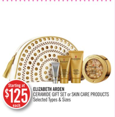 Elizabeth Arden Ceramide Gift Set or Skin Care Products