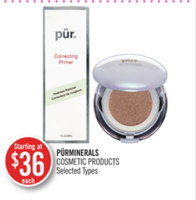 Pürminerals Cosmetic Products