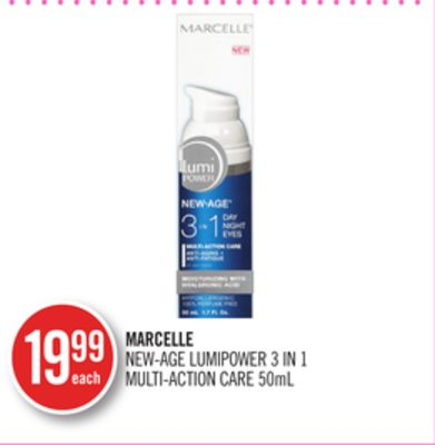Marcelle New-age Lumipower 3 In 1 Multi-action Care