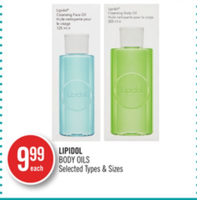 Lipidol Body Oils