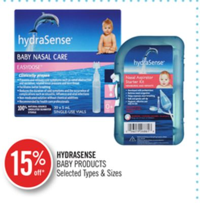 Hydrasense Baby Products