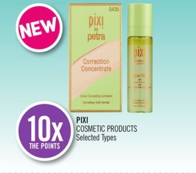 Pixi Cosmetic Products