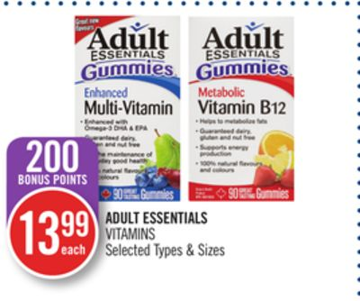 Adult Essentials Vitamins