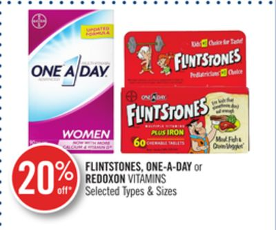 Flintstones - One-a-day or Redoxon Vitamins