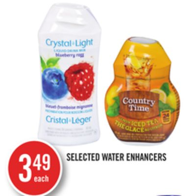 Selected Water Enhancers