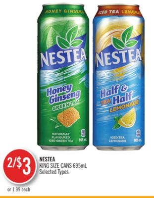 Nestea King Size Cans