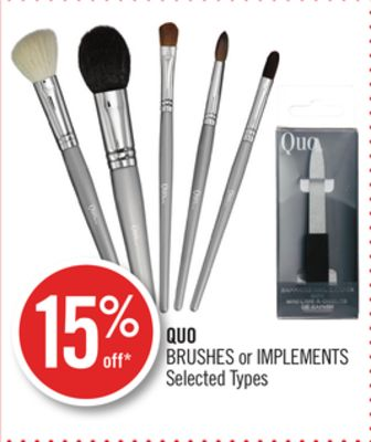 Quo Brushes or Implements