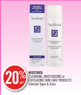 Neostrata Cleansing - Moisturizing or Exfoliating Skin Care Products