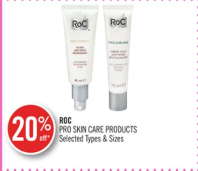Roc Pro Skin Care Products
