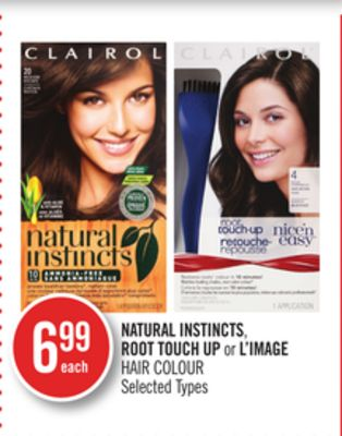 Natural Instincts - Root Touch Up or L'image Hair Colour