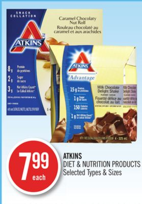 Atkins Diet & Nutrition Products