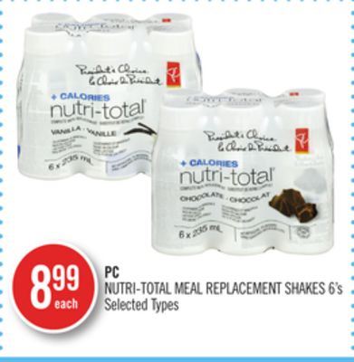 PC Nutri-total Meal Replacement Shakes