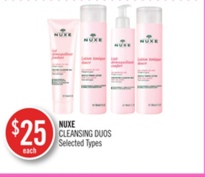 Nuxe Cleansing Duos