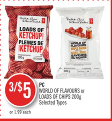 PC World Of Flavours or Loads Of Chips