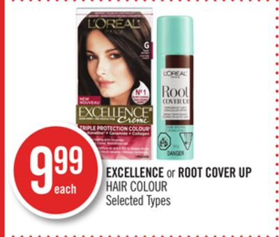 Excellence or Root Cover Up Hair Colour