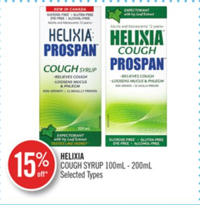 Helixia Cough Syrup 100ml - 200ml