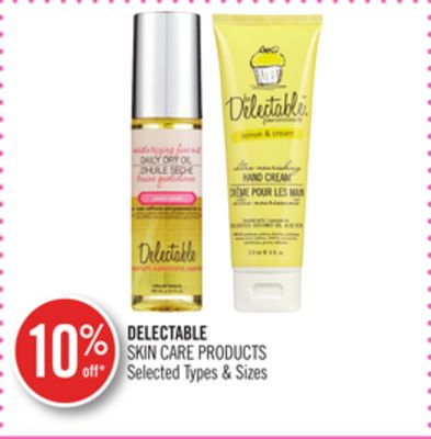 Delectable Skin Care Products