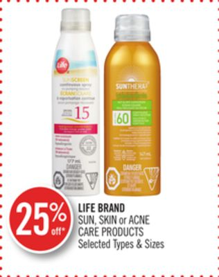 Life Brand Sun - Skin or Acne Care Products