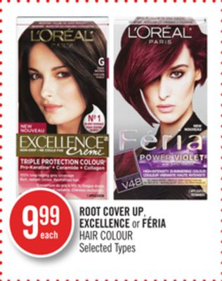 Loreal Root Cover Up - Excellence or Féria Hair Colour