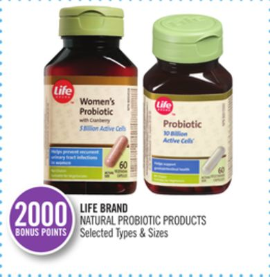 Life Brand Natural Probiotic Products