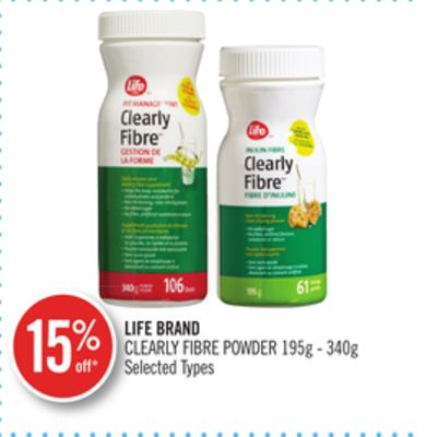 Life Brand Clearly Fibre Powder