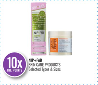 Nip+fab Skin Care Products