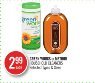 Green Works or Method Household Cleaners
