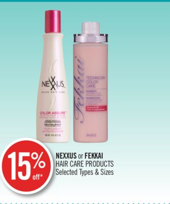 Nexxus or Fekkai Hair Care Products