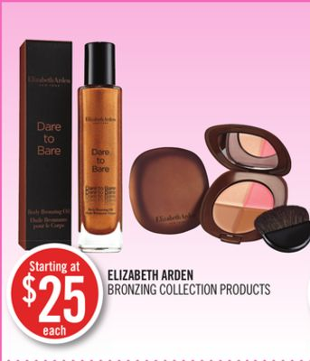 Elizabeth Arden Bronzing Collection Products