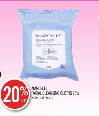 Marcelle Facial Cleansing Cloths