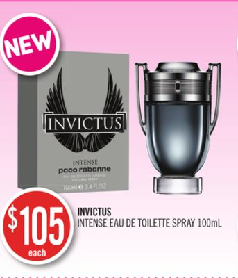 Invictus Intense Eau De Toilette Spray