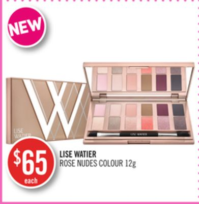 Lise Watier Rose Nudes Colour